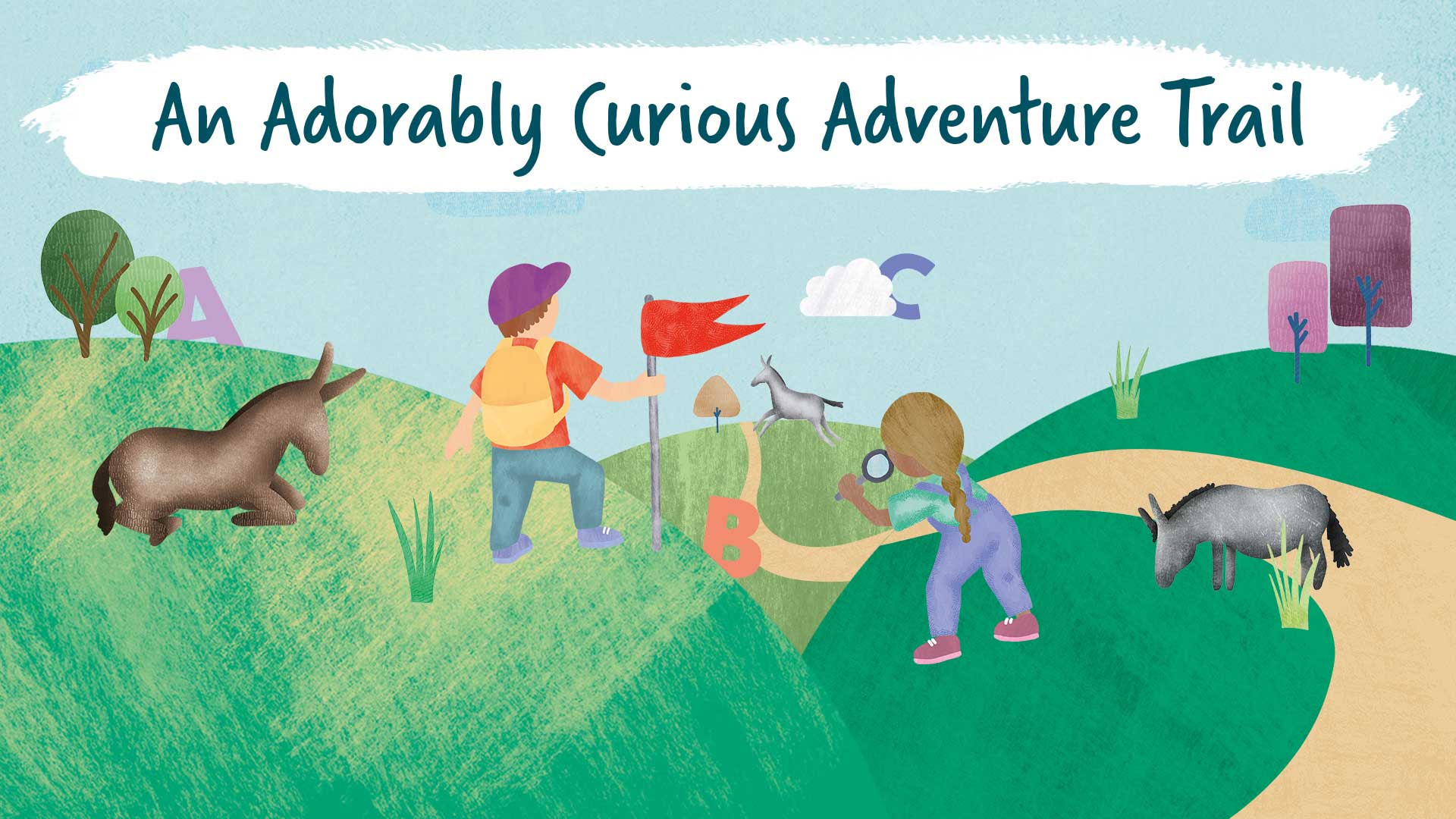An Adorably Curious Adventure Trail illustration