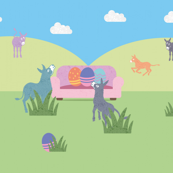 Sanctuary From Your Sofa Easter 2021 with blue sky