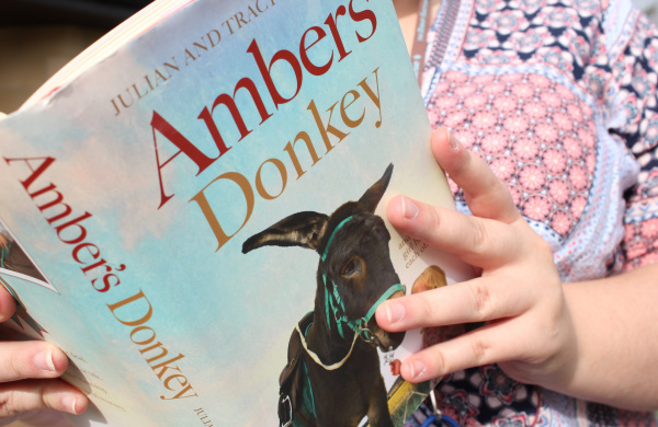Amber's Donkey book reading