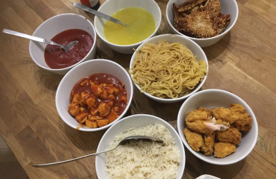 Homemade Chinese takeaway