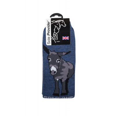 "Riding or Welly Boot Donkey Socks (18"")"