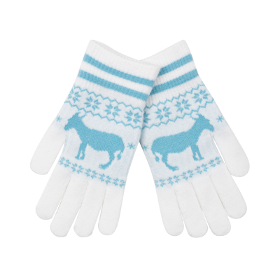 Fairisle Donkey Gloves