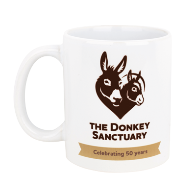 Donkey Sanctuary 50 Year Mug