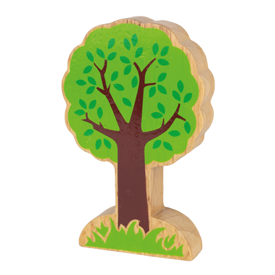 Wooden Toy Green Tree